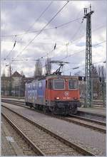 The SBB Re 421 383-1 in Lindau.