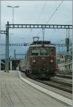BLS Re 4/4 193 in Spiez.