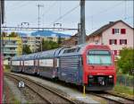 Re 450 074-0 taken near St Gallen out of the moving train on September 12th, 2012.