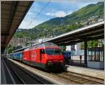 Re 460 096-1 taken in Locarno on May 23th, 2012.