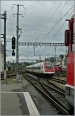 SBB ICN is arriving at Lausanne
