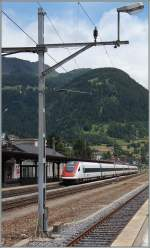 A ICN at Airolo Station.