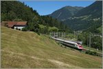 A SBB ICN on the way to the nord side of the alps by Rodi Fiesso.