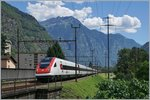 A SBB ICN on the way to the north side of the alps by Bodio.