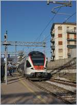 The SBB Tilo Flirt RABe 524 110 in Varese.