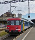 The RBe 4/4 540 060-1 pictured in Gossau SG on September 14th, 2012.