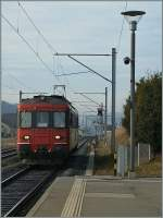 The SBB RBe 540 010-6 in Siviriez. 