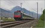 A NPZ RABe 540 on the way to Brig near Ardon.