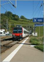 S 21 to Lausanne at Grandvaux.