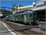 The dsf BDe 4/4 1641 in Lausanne.