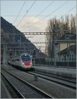 SBB ETR 610 in Visp.