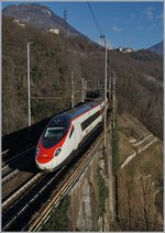 SBB ETR 610 on the way to Venezia by Preglia.
