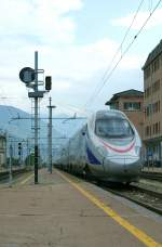 CIS ETR 610 coming from Milano arriving at Domossola.