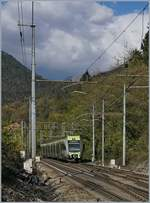The BLS RABe 535 102 Lötschberger on the way to Domodossola in Varzo.