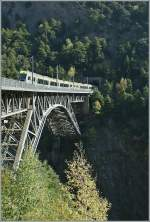 BLS RE to Spiez on the Bietstal-Bridged. 