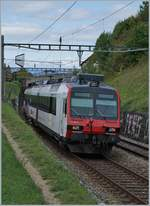 A SBB Domino between Grandvaux and Bossière. 