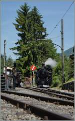 The DFB HG 3/4 N° 3 in Chaulin. 