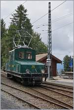 The Blonay Chamby Ge 4/4 N° 75 in Chaulin.
