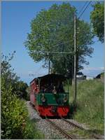 A Blonay-Chabmy steamer by Blonay on the way to Chaulin.