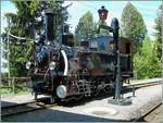 40 years Blonay -Chamby Railway: The JS/BAM G 3/3 in Chaulin.