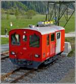 The DFB Tmh 985 pictured in Oberwald on May 24th, 2012.