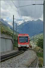 A  Komet  to Zermatt approaching Stalden.