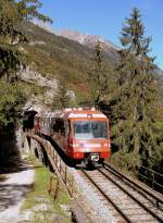 One of the beautifulest part of the M-C Line is between Le Trétin and Finhaut.