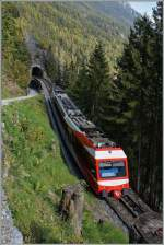 A TMR/MC local train between Trient and Finhaut.