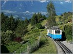 The Bhe 2/4 207 ouver Caux.