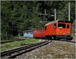 Daily in the summer-time runs this oldtimer (Belle-Epoque)-Train between Montreux and the Rochers de Naye.