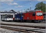 The MVR HGem 2/2 2501 and MOB Gem 2/2 2502 in Chernex.