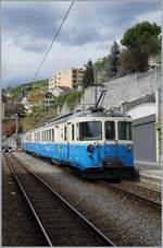 The ABDe 8/8 4002 VAUD in Montreux.