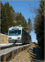 CEV  Train des Etolies  between Lally and Les Pleaidaes.
