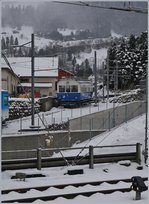 The old Rigi-Railway Beh 2/4 N° 7 in Arth Goldau.
