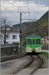 AOMC local train is arriving at Ollon.