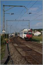 A TPF RE from Bulle to Fribourg by Neyruz.