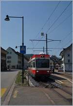 WB local train in Hölstein.