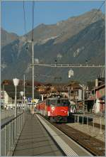 zb  De 100 001-5 with a local train in Brienz.