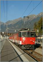 zB  De 110 001-5 with a local train in Brienz.