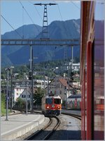 The Rhb Ge 4/4 II 622 in Chur.