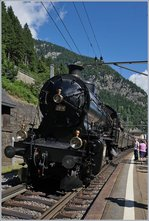 The SBB C 5/6 2978  The Elephant  in Göschenen (Gotthard Line).