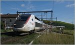 TGV Lyria 9768 from Geneva to Pris in Russin.