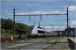 TGV Lyria to Paris in La Plaine.
