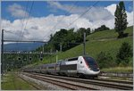TGV Lyria from Paris to Geneva in La Plaine.