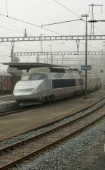 TGV  Lyria  service N° 9281 from Paris to Bern in Travers. 