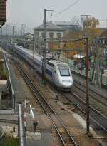 TGV  Lyria  in Liestal.