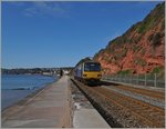 The Great Western Railway 143 612 on the way to Paignton near Dawlish. 19.04.2016