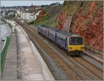 The Great Western Railway 143 619 and an other one near Dawlish.