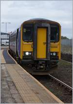 The Nothern Class 152 (153 335) to Barrow in Whitehavn.