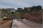 A Country Cross HST 125 Class 43 between Teignmounth and Dawlish.